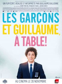 LES GARCONS ET GUILLAUME, A TABLE ! - Affiche 120x160 - France