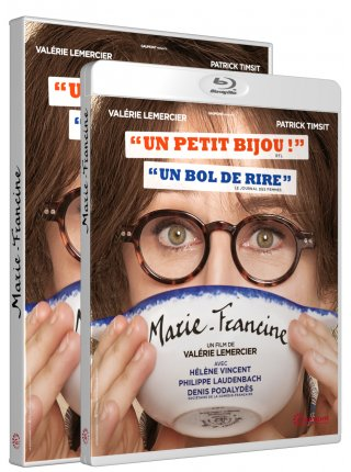 MARIE-FRANCINE - Jaquette 3D DVD & Blu-ray