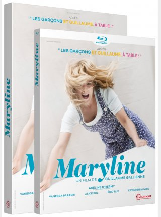 MARYLINE - Jaquette 3D DVD