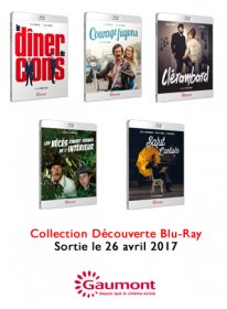 Collection Gaumont Blu-ray Découverte (Avril 2017)